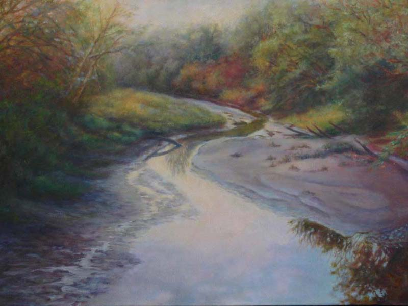 painting of silver creek