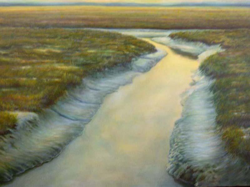 painting of skagit waterway