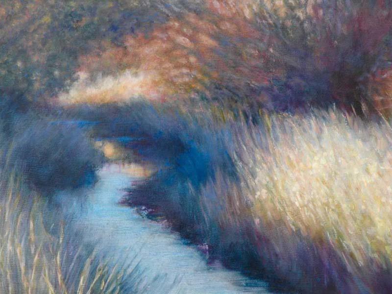 painting of waterway