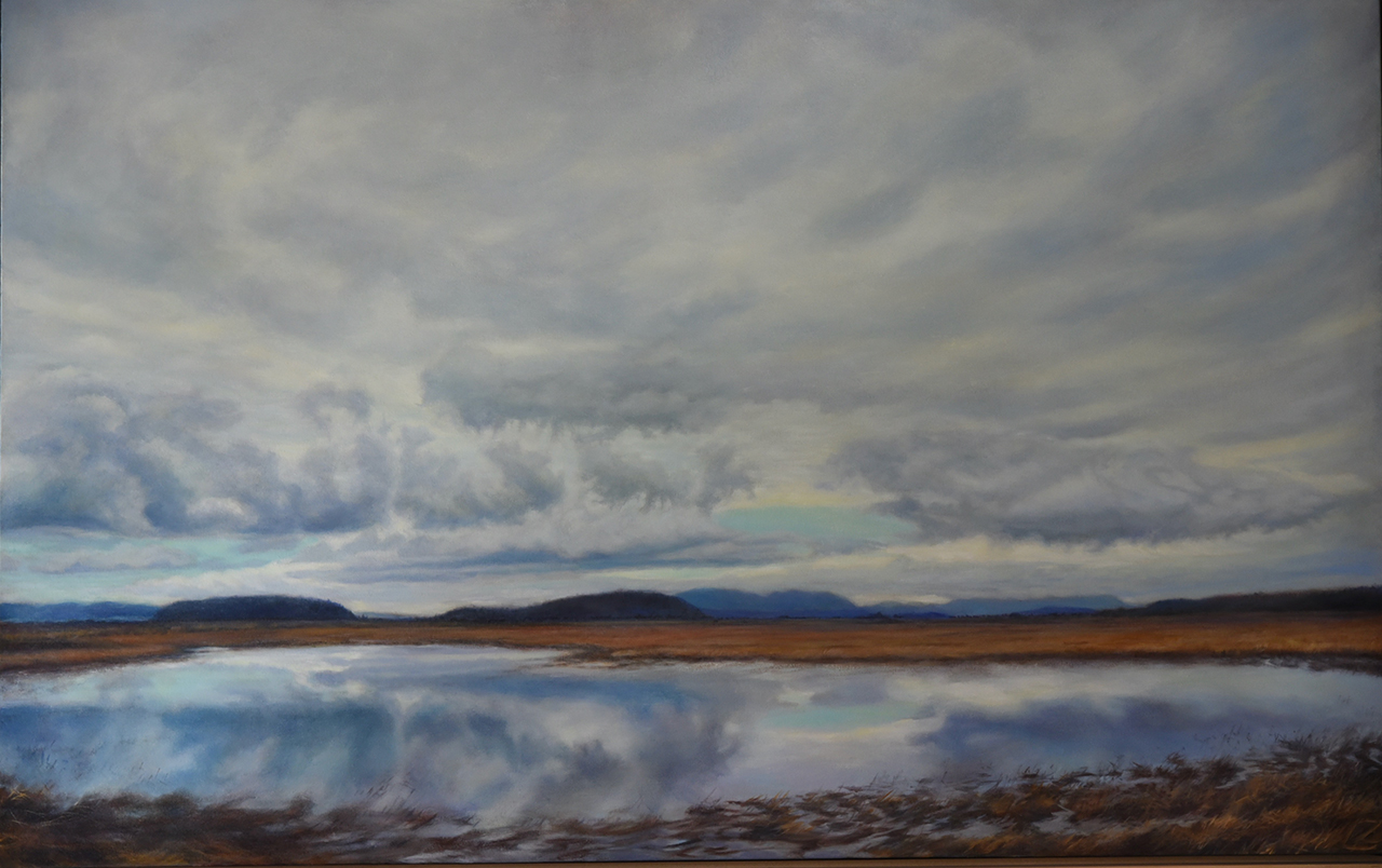oil painting landscape by lynn zimmerman