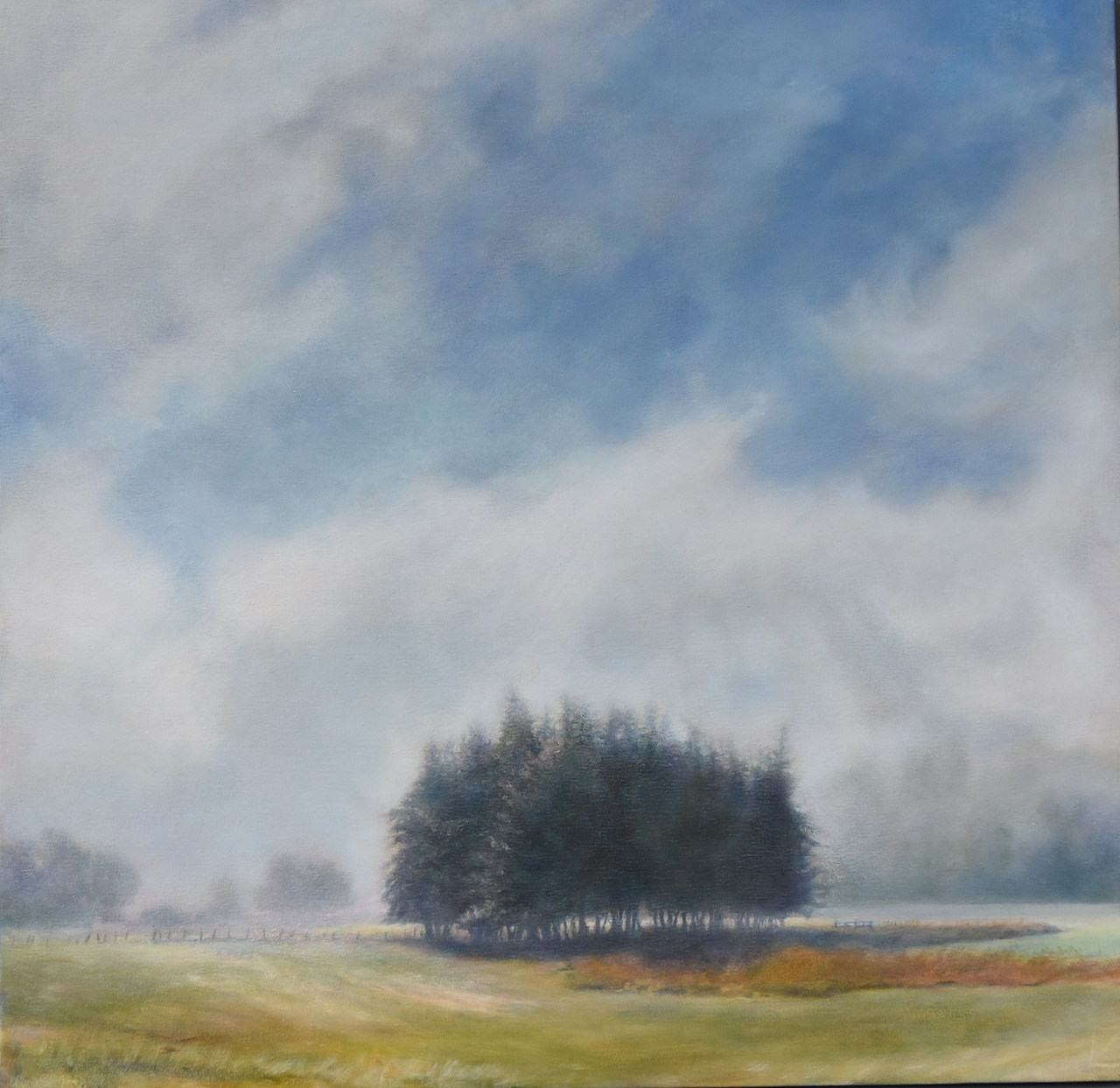 oil painting landscape by lynn zimmerman